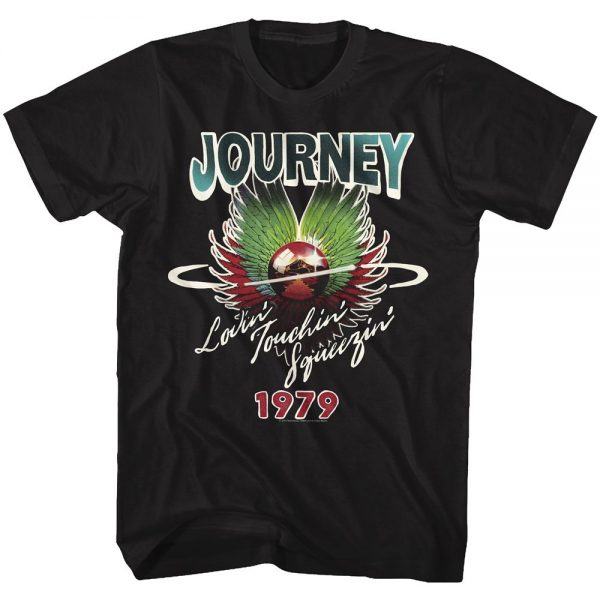 Journey Lovin' Touchin' Squeezin'