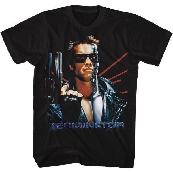 Terminator Laser Back