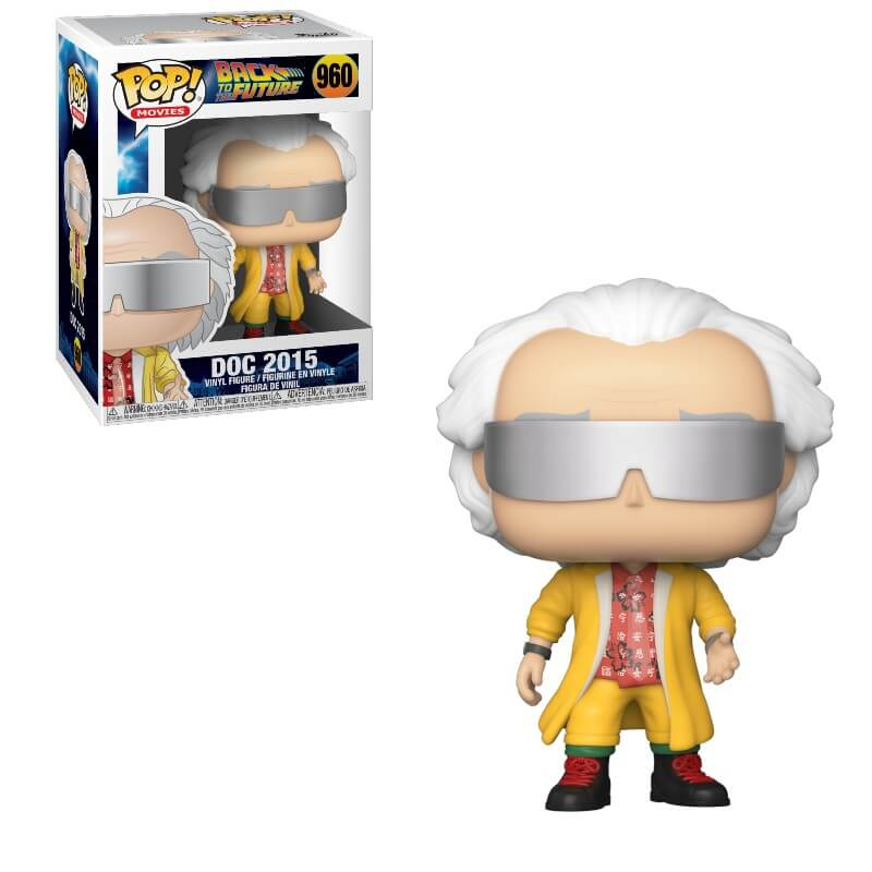 Back to the Future Doc 2015 Funko Pop Vinyl