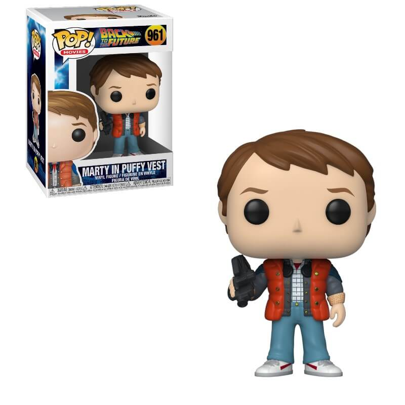 Back to the Future Marty in Puffy Vest Funko Pop Vinyl