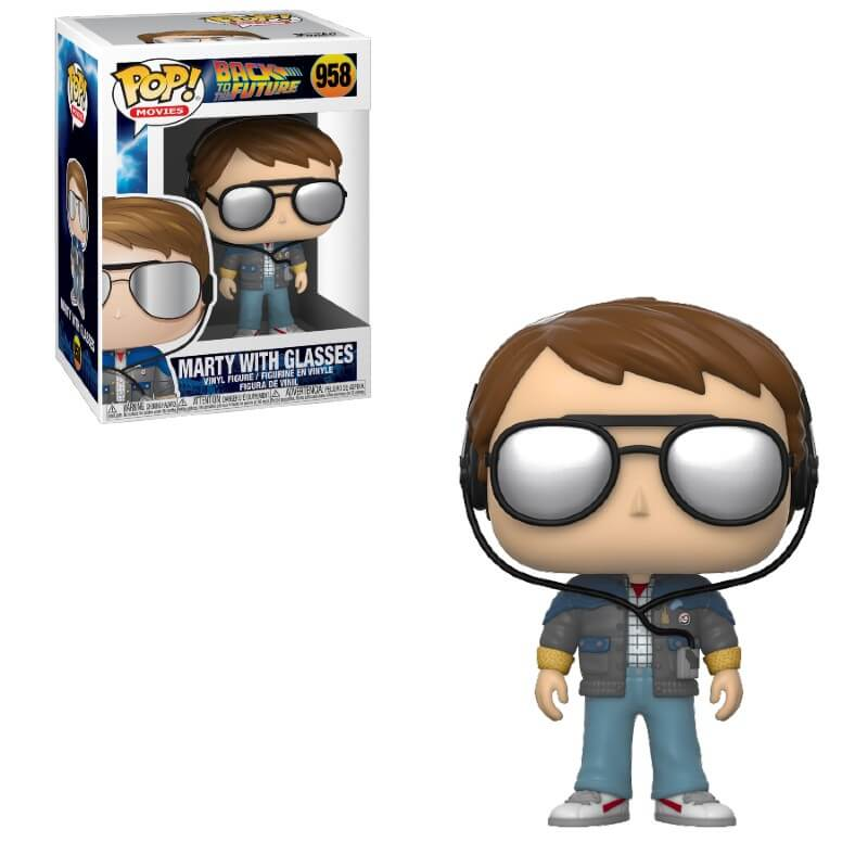 Back to the Future Marty with Glasses Funko Pop Vinyl