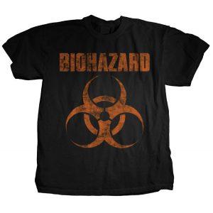 Biohazard Distressed Logo