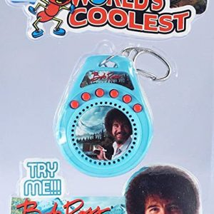 Bob Ross Talking Keychain
