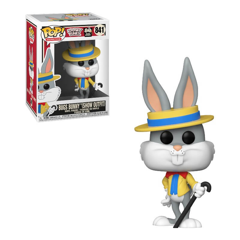 Bugs Bunny 80th Show Outfit Funko Pop Vinyl