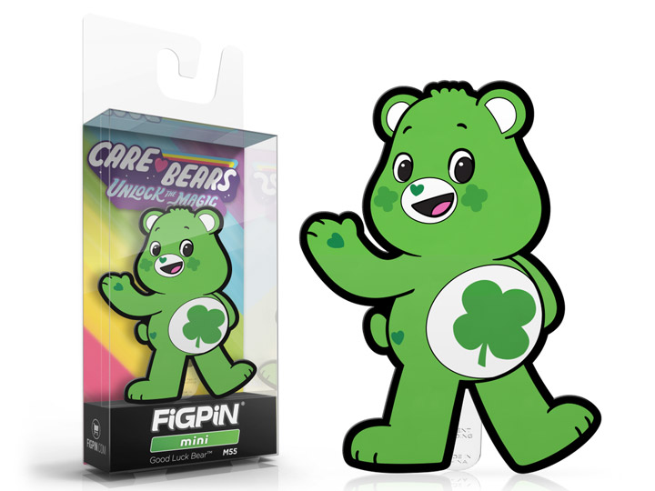 Care Bears Good Luck Bear FigPin