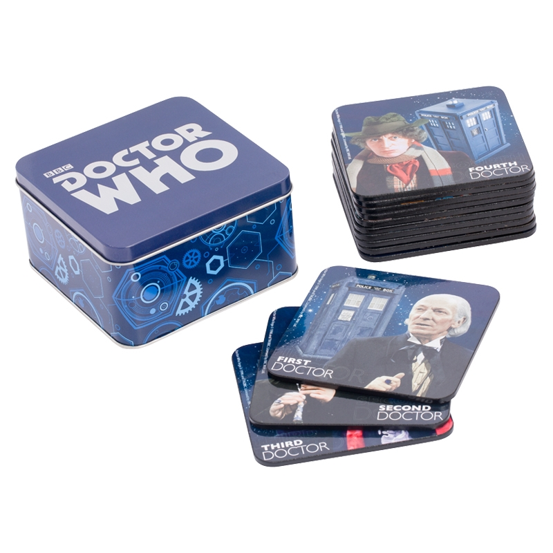 Doctor Who 13pc Coaster Set