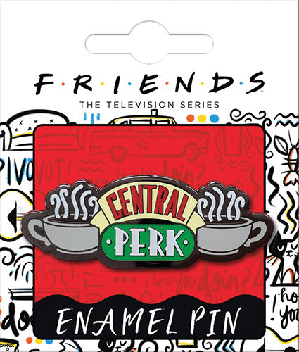 Friends Central Perk Lapel Pin