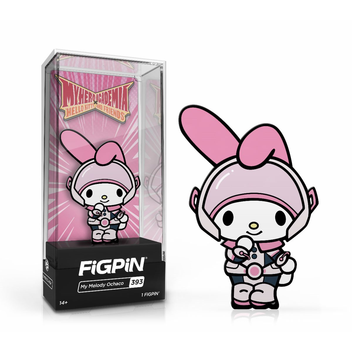 Hello Kitty My Melody FigPin