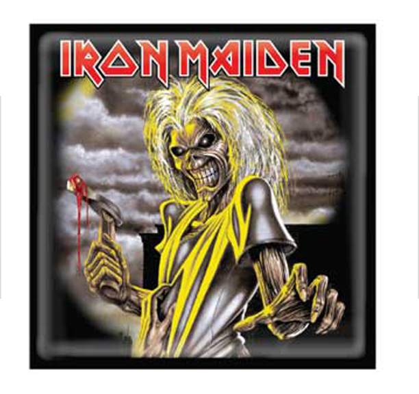Iron Maiden Killers Lapel Pin