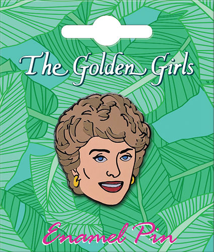 The Golden Girls Blanche Lapel Pin