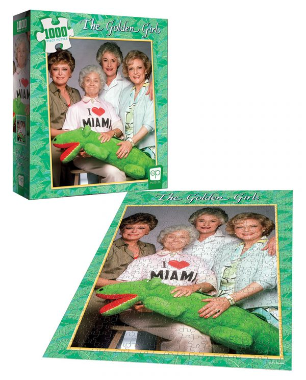 The Golden Girls Heart Miami 1000pc Puzzle