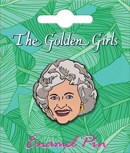 The Golden Girls Rose Lapel Pin