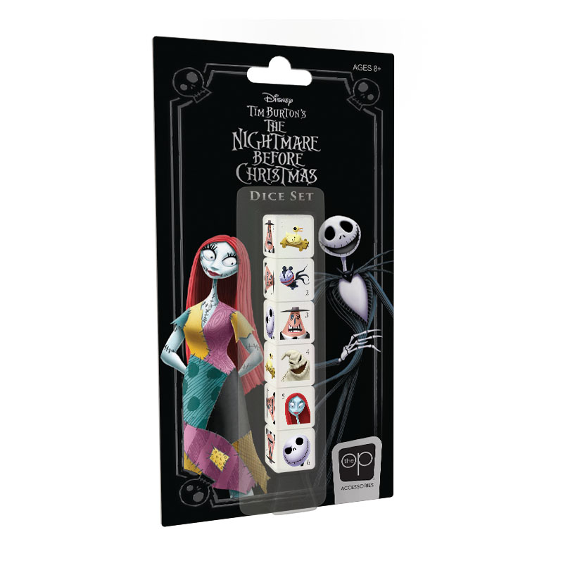 The Nightmare Before Christmas Dice Set