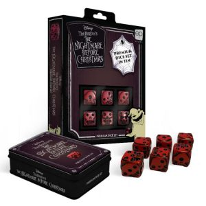 The Nightmare Before Christmas Premium Dice Set