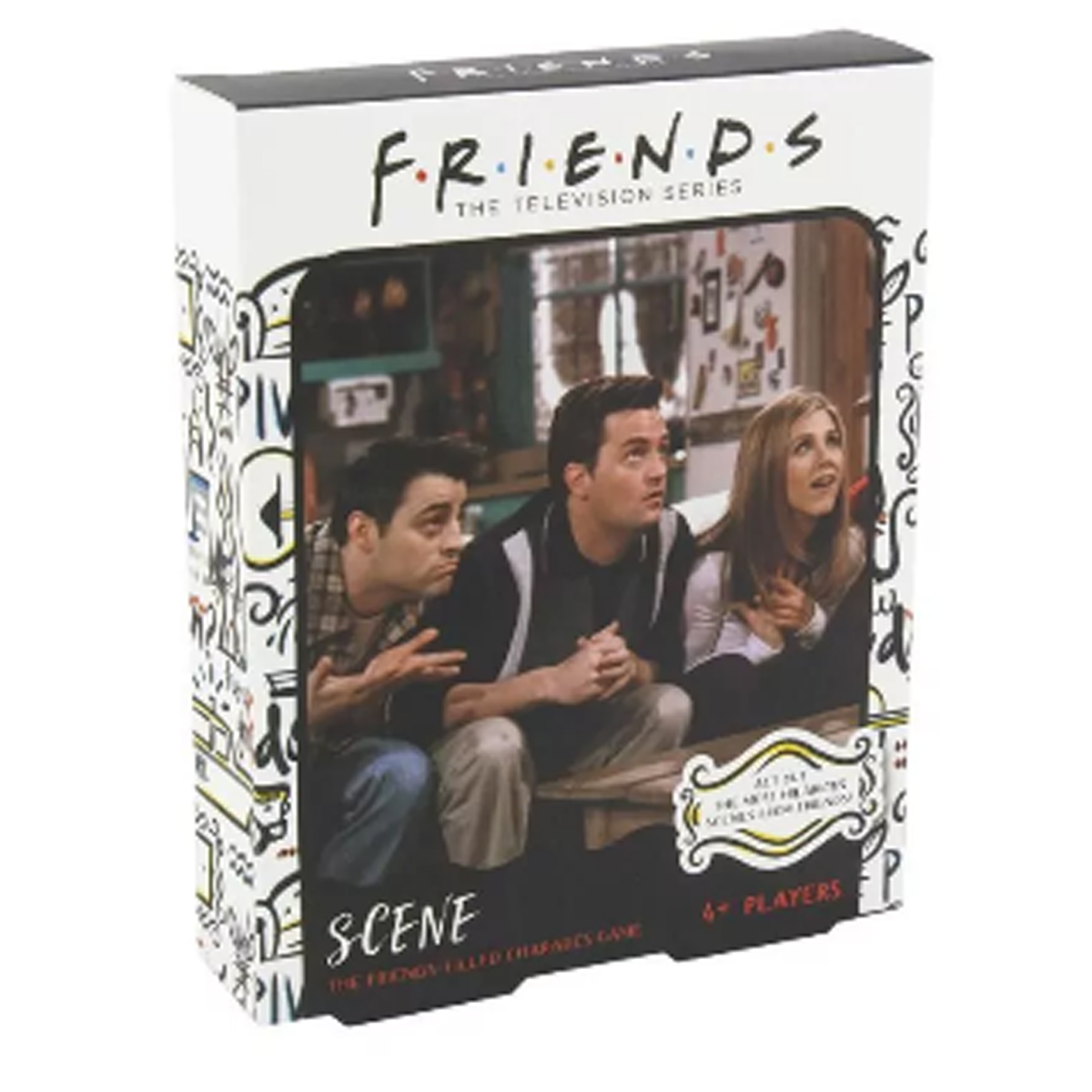Friends Scene Trivia Game