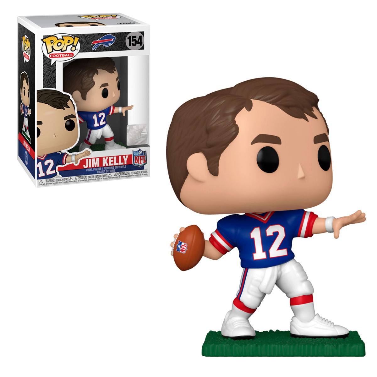NFL Bills Jim Kelly Funko Pop Vinyl