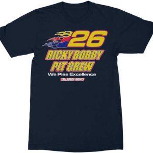 Talladega Nights Ricky Bobby Pit Crew