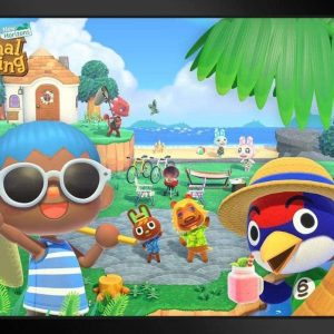 Animal Crossing Summer Frame
