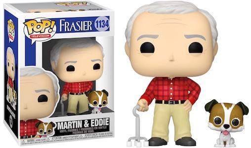 Fraiser Martin & Eddie Funko Pop Vinyl