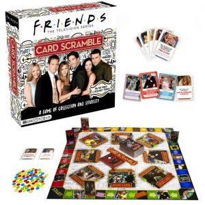 Friends Card Scramble Board Game