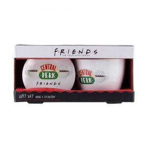 Friends Central Perk Mug and Coaster Set