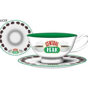 Friends Central Perk Teacup and Saucer Set