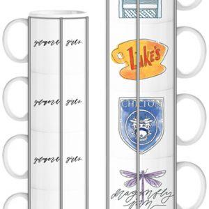 Gilmore Girls 4pc Stackable Mugs