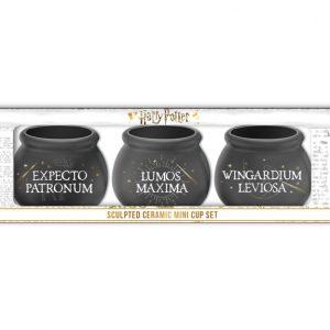 Harry Potter 3pc Sculpted Mini Cup Set