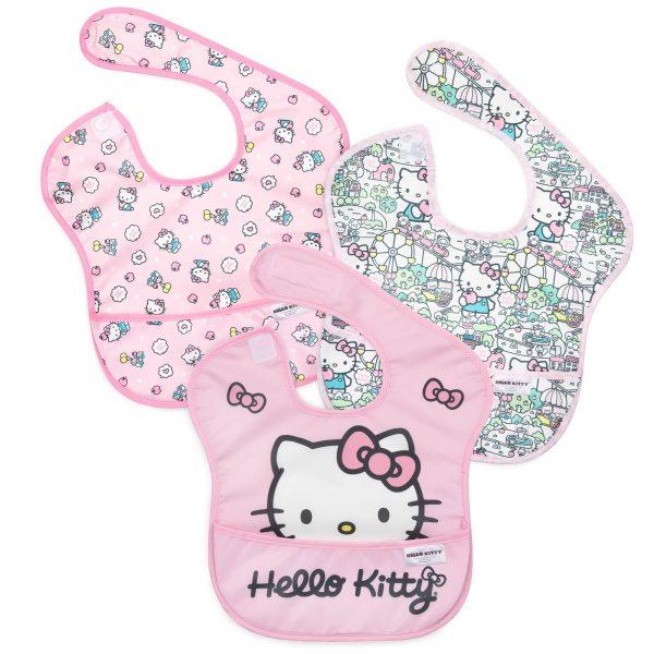Hello Kitty 3pk Baby Bibs