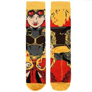 Magic the Gathering Chandra 360 Socks