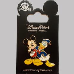 Mickey & Donald Lapel Pins