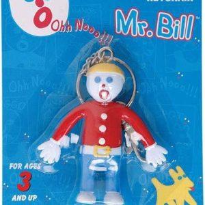 Mr. Bill Bendable Keychain