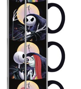 Nightmare Before Christmas 4pc Stackable Mugs