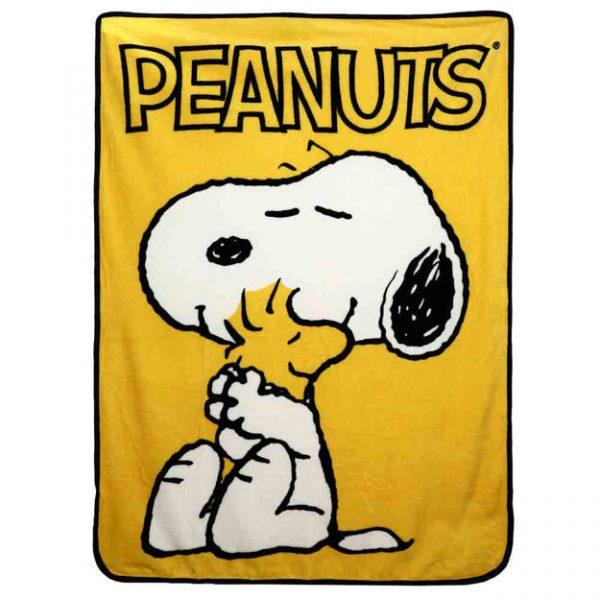 Peanuts Snoopy and Woodstock Blanket