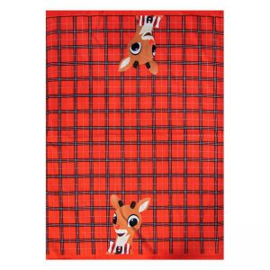 Rudolph Dish Towel
